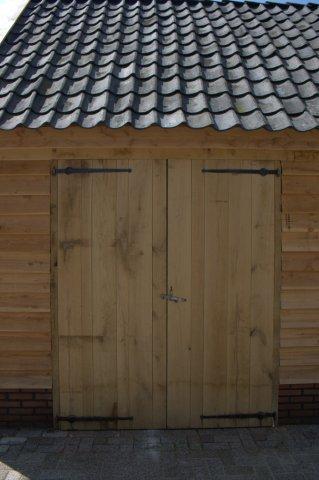 houten-kapschuur-7 - Houten schuur drentsmodel