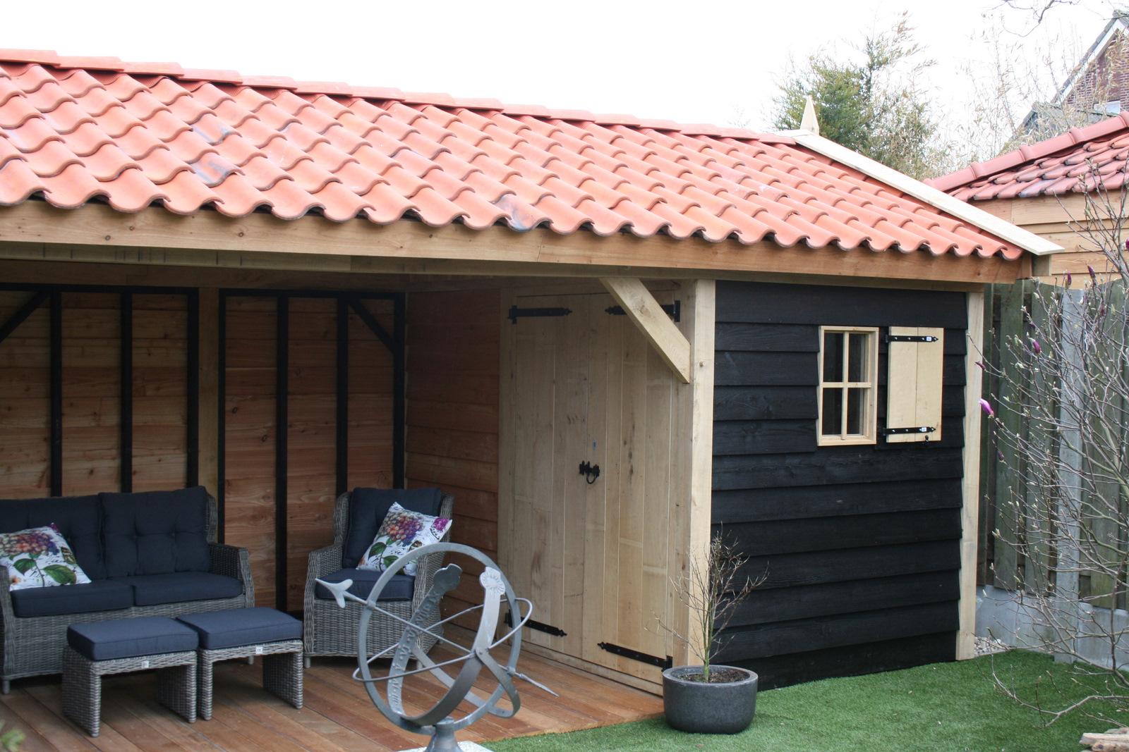 houten-tuinkamer-5 - Tuinhuis met tuinkamer Base