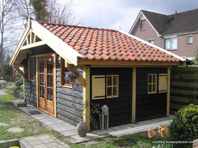 1-eikenhouten-tuinpaviljoen-1 - Project Alkmaar: Houten tuinpaviljoen
