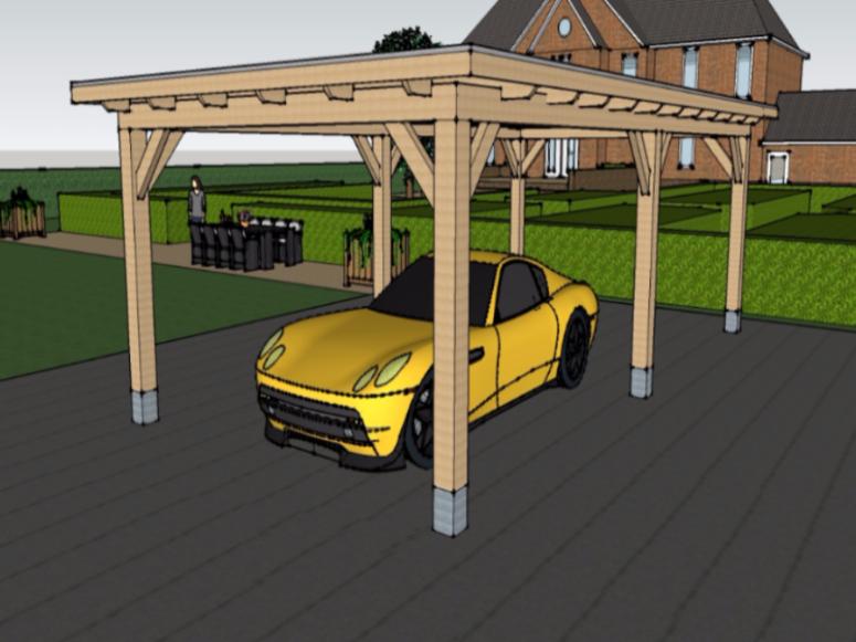 Carport - Maatwerk