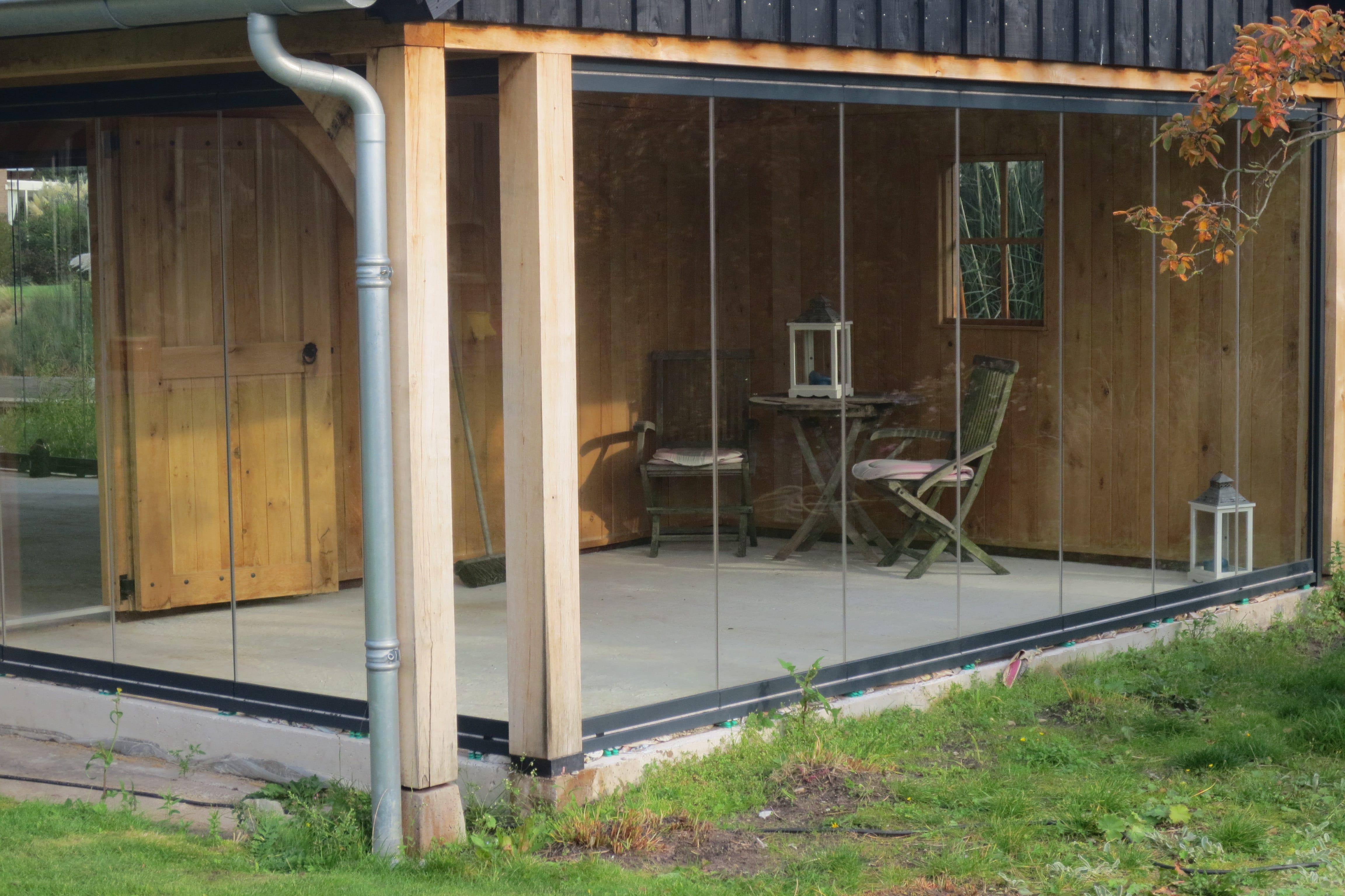 eiken-poolhouse-1 - houten poolhouse