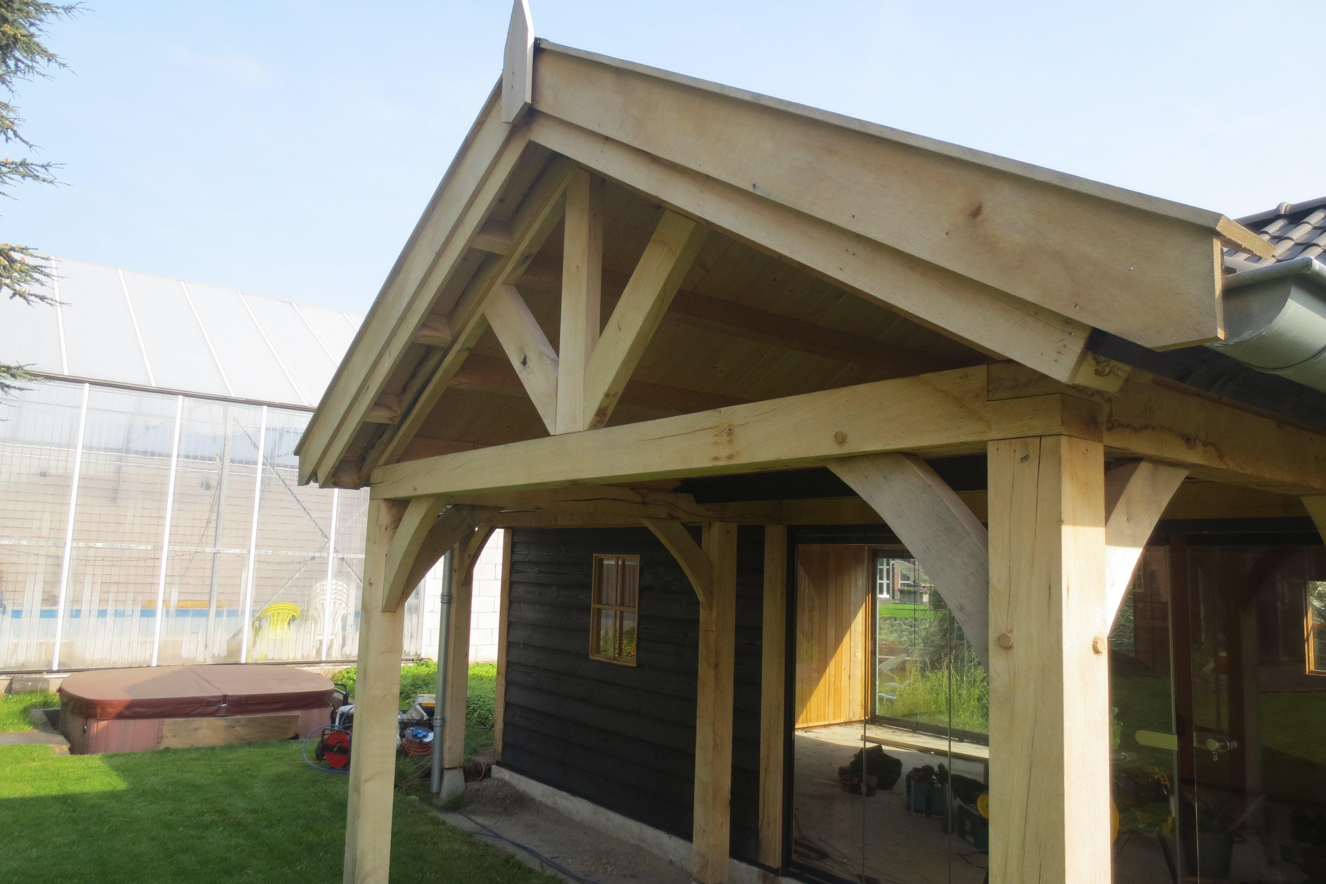 eiken-poolhouse-2 - houten poolhouse