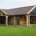 Houten Poolhouse Maatwerk