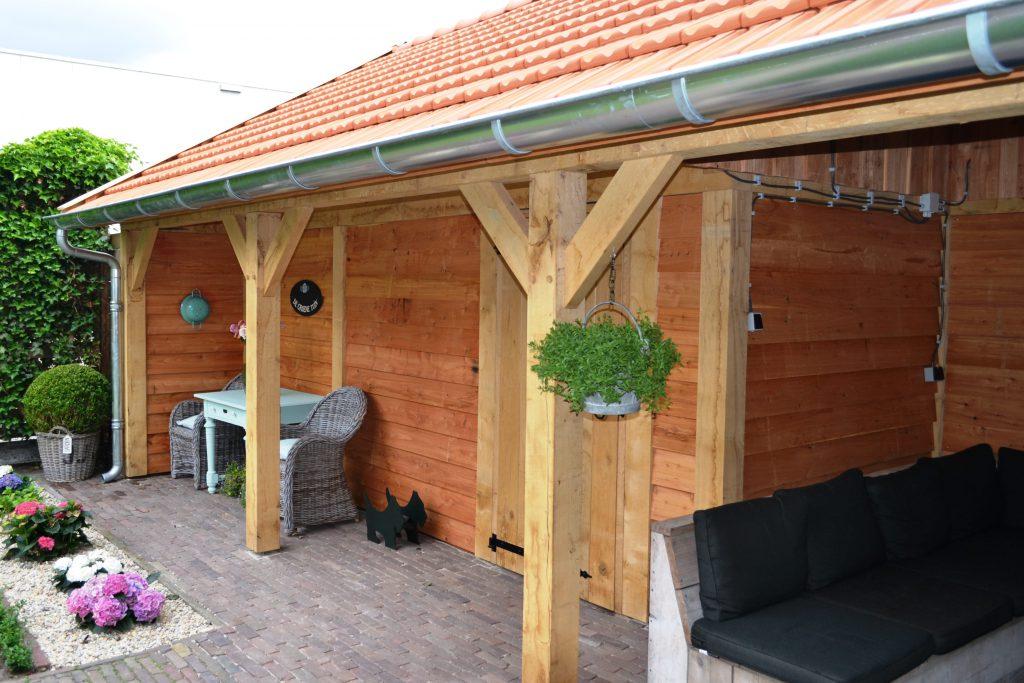 Houten-schuur-met-carport-1024x683 - Houten Schuur met carport.
