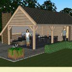 Ontwerp: Landelijke tuinkamer