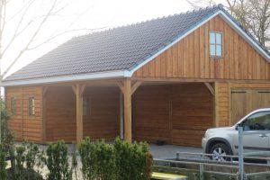 houten-garage-met-carport-12-300x200 - Houten garage met carport.