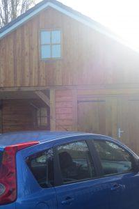 houten-garage-met-carport-13-200x300 - Houten garage met carport.