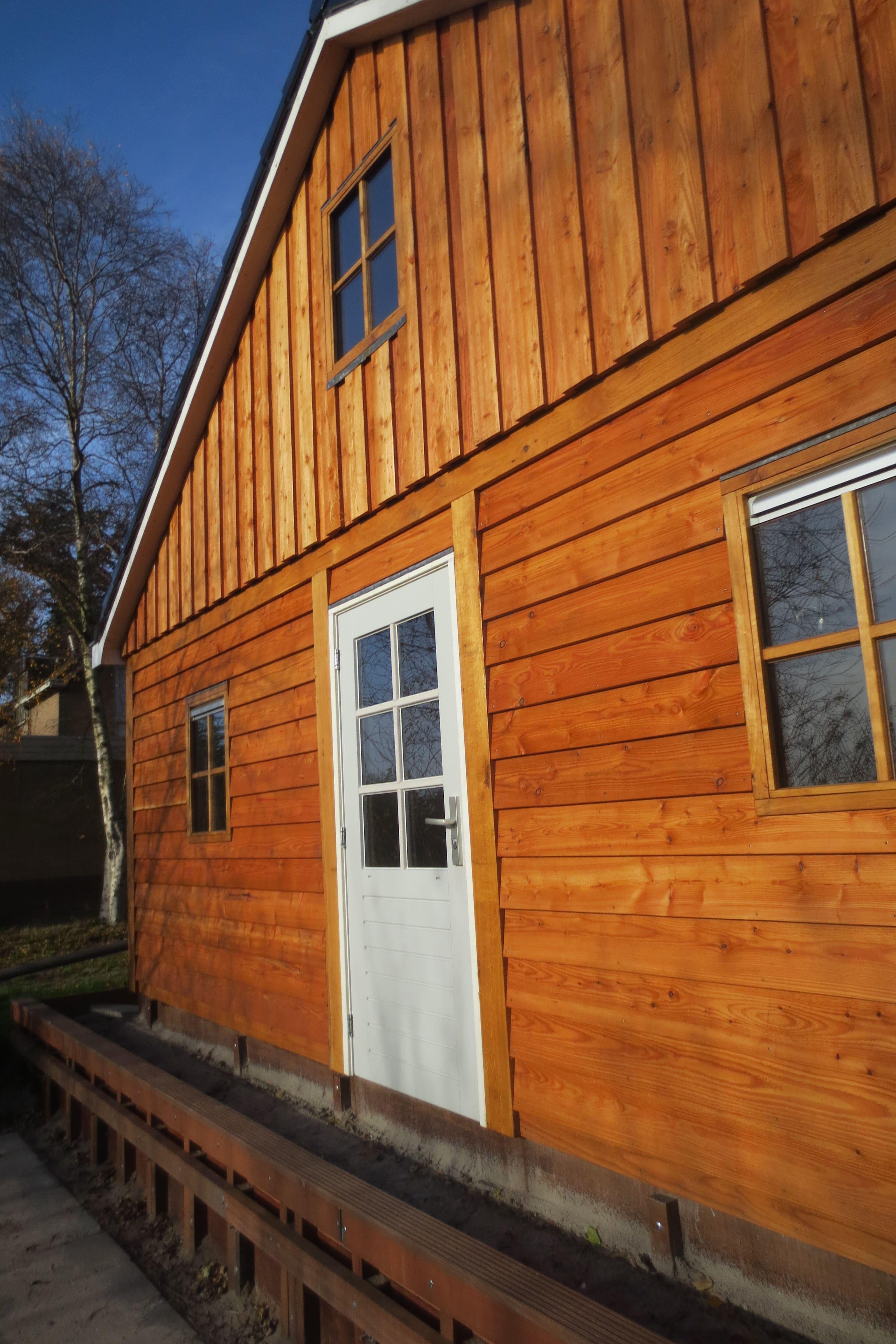 houten-garage-met-carport-8 - Project Enkhuizen: Houten garage met carport