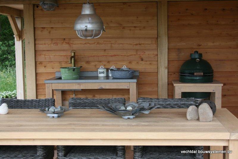 houten-tuinhuis-met-groendak-3 - Project Coevorden: Tuinhuis met Groendak