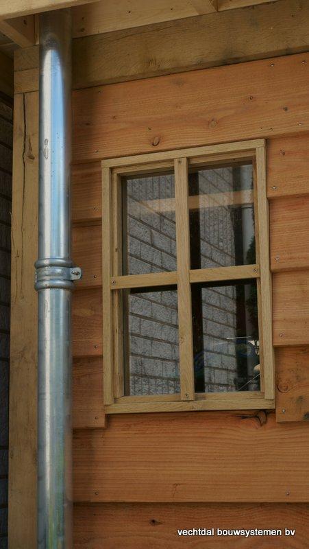houten-tuinhuis-met-overkapping-platdak-4 - Project: Rotterdam: Houten tuinhuis met overkapping platdak