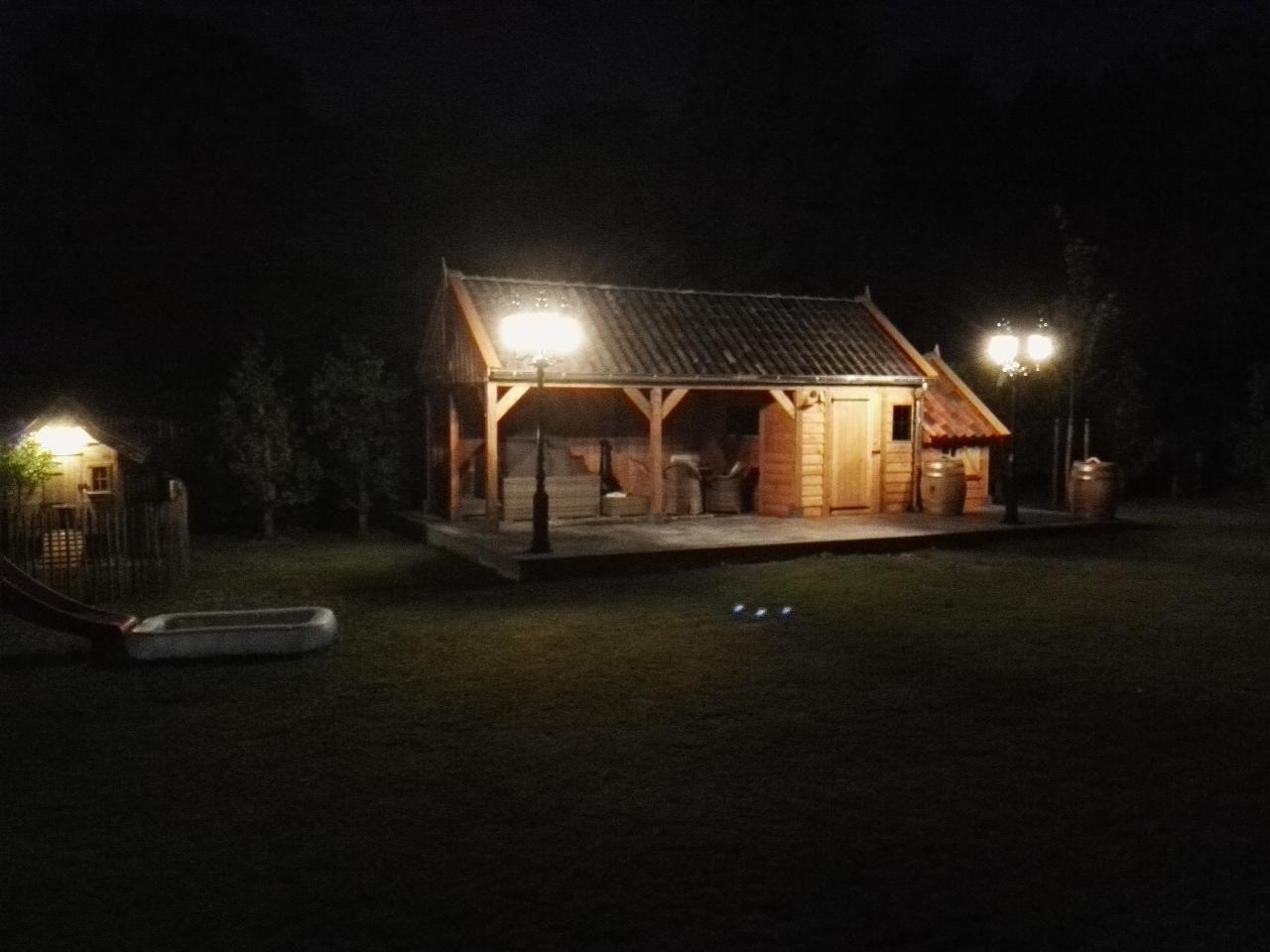 houten-tuinhuis-met-tuinkamer-5 - Project Lummen: Houten tuinhuis met tuinkamer