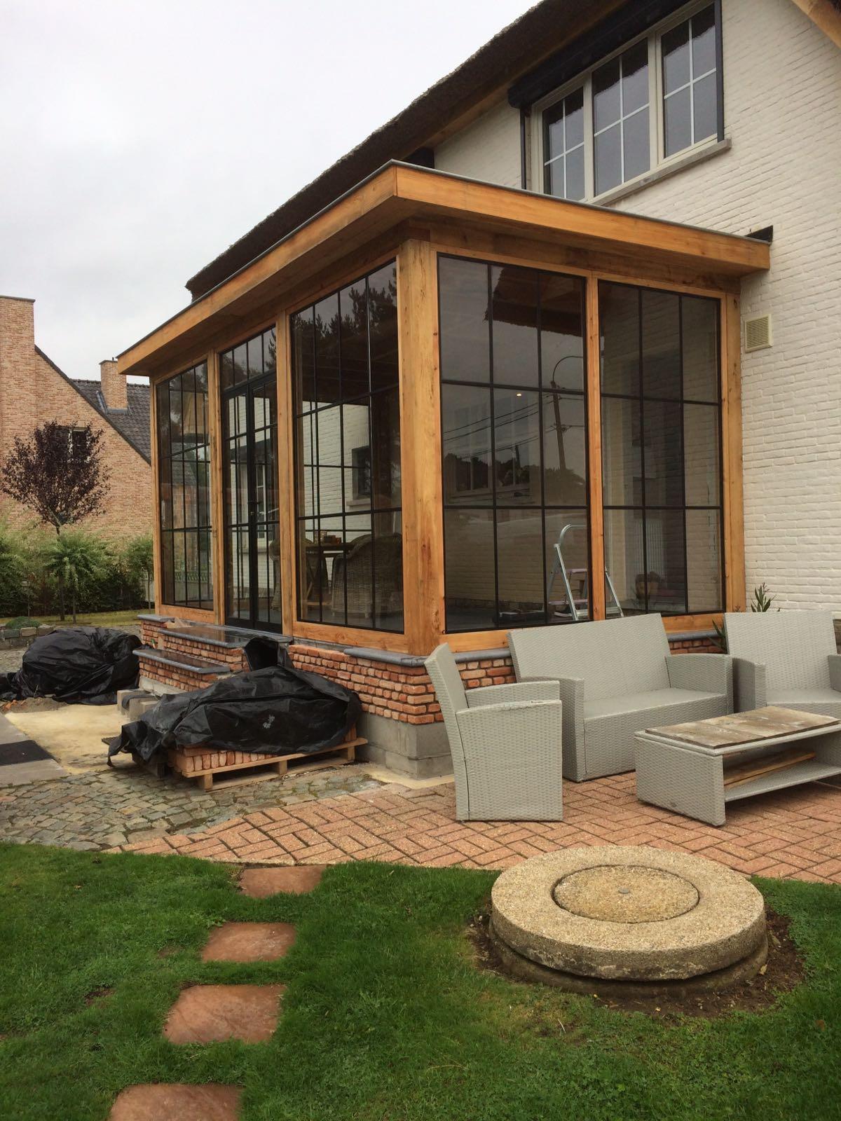houten-tuinkamer-serre-2 - Project Belgiè gesloten tuinkamer-serre.