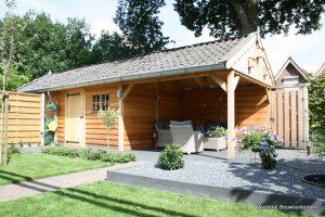 tuinhuis-1-300x200 - Met een houten tuinkamer kunt u optimaal genieten van het gezonde buitenleven.
