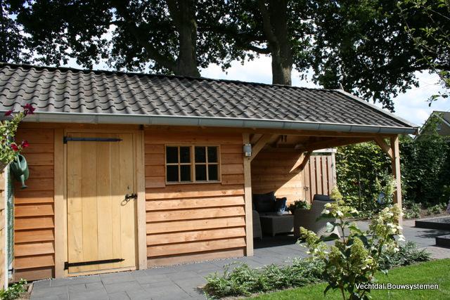 tuinhuis-6 - Project: Houten tuinhuis