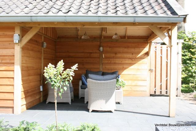 tuinhuis-7 - Project: Houten tuinhuis