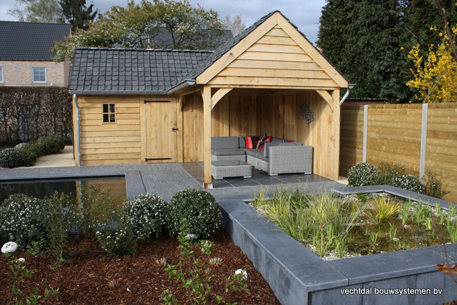 eiken-poolhouse-hoekmodel-11 - Project Balen: Eiken poolhouse hoekmodel