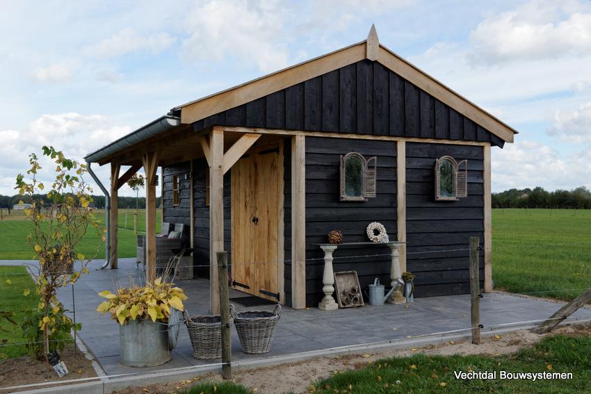 houten-kapschuur-met-luifel-8 - Project Didam: Houten kapschuur met luifel.