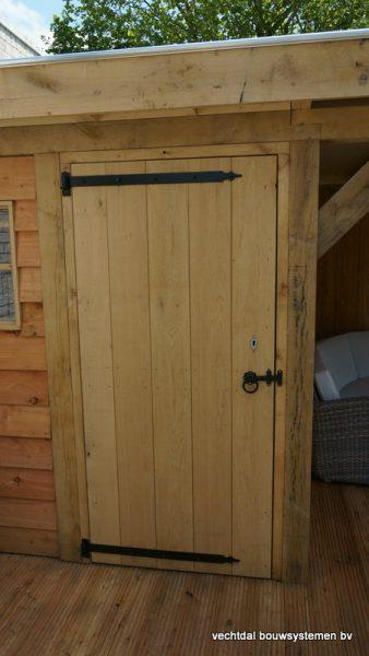 houten-tuinhuis-met-overkapping-platdak-3-338x600 - Houten Tuinhuis met overkapping (platdak)