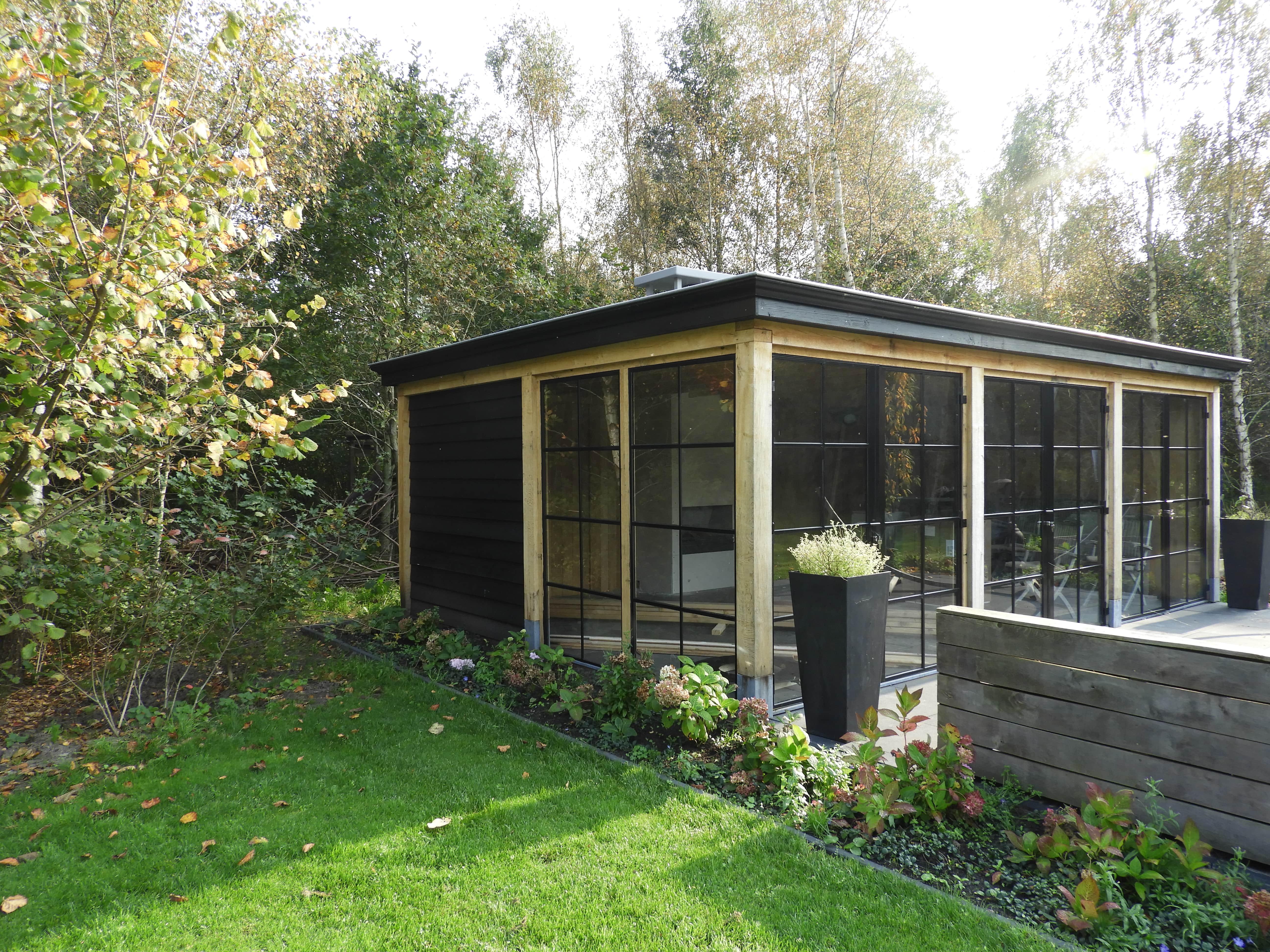 houten-tuinkamer-1 - Project Zwolle: Houten tuinkamer