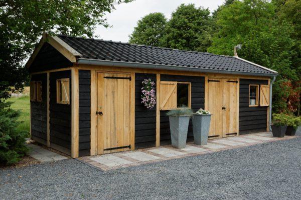 houten-tuinschuur-1-600x400 - Houten tuinschuur