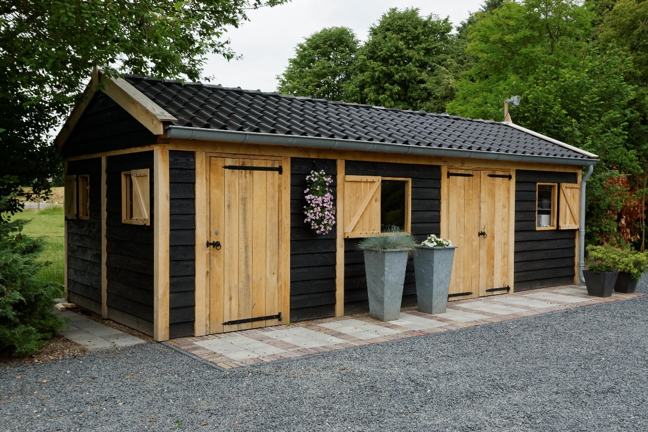 houten-tuinschuur-1 - Project Asperen: Houten tuinschuur