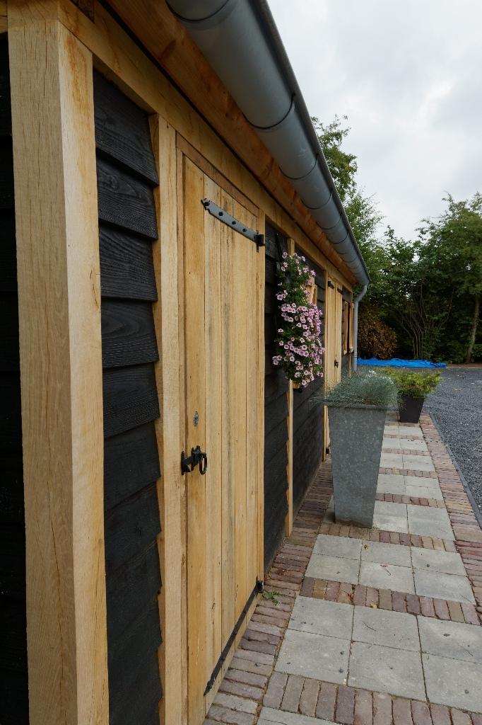 houten-tuinschuur-2 - Project Asperen: Houten tuinschuur