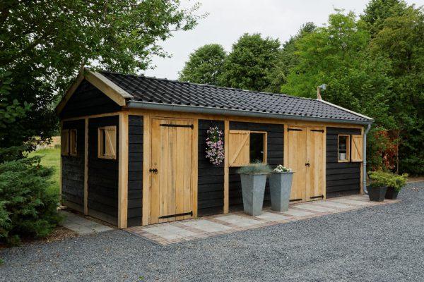 houten-tuinschuur-3-600x400 - Houten tuinschuur