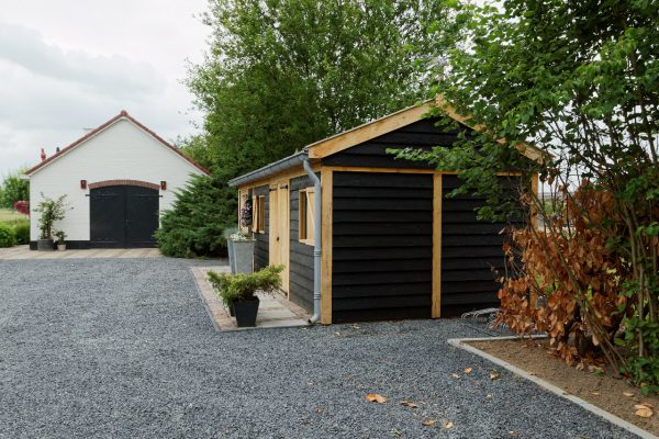 houten-tuinschuur-4-600x400 - Houten tuinschuur
