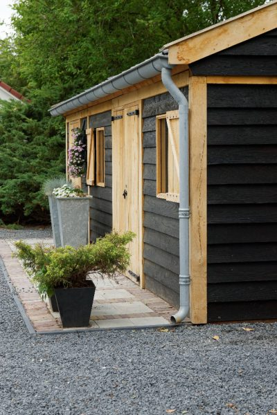houten-tuinschuur-5-400x600 - Houten tuinschuur