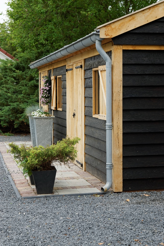 houten-tuinschuur-5 - Project Asperen: Houten tuinschuur