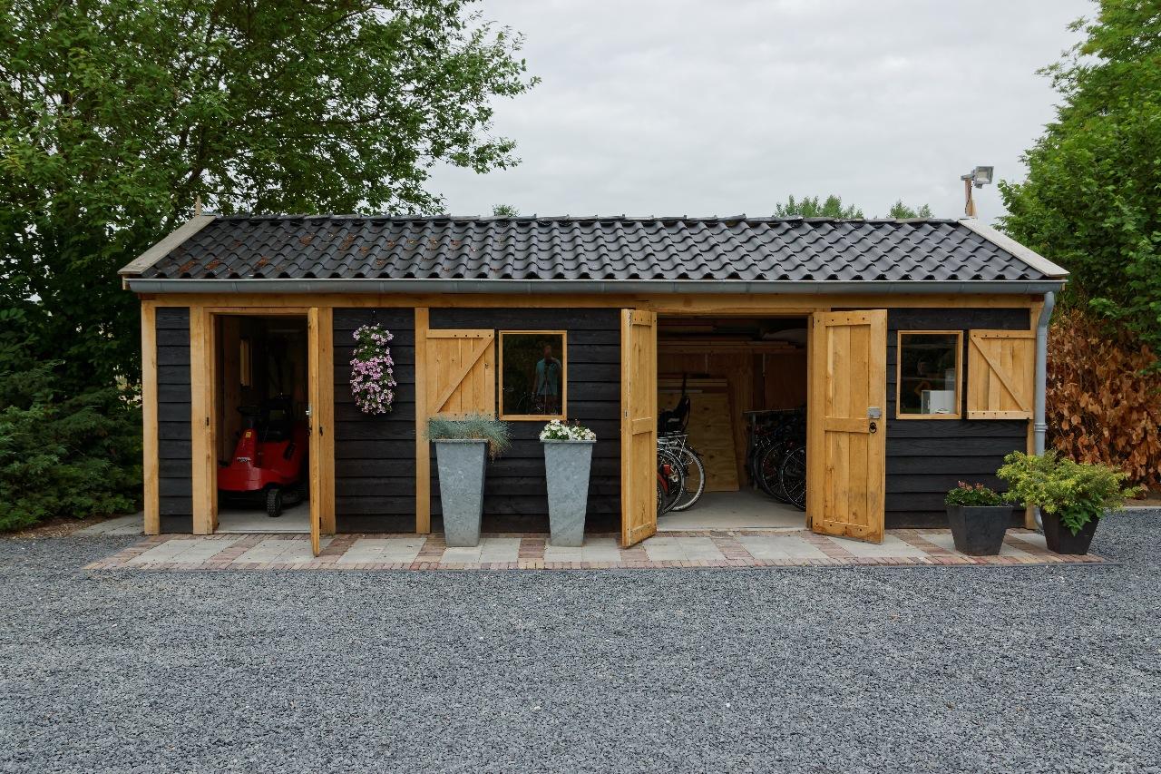 houten-tuinschuur-7 - Project Asperen: Houten tuinschuur