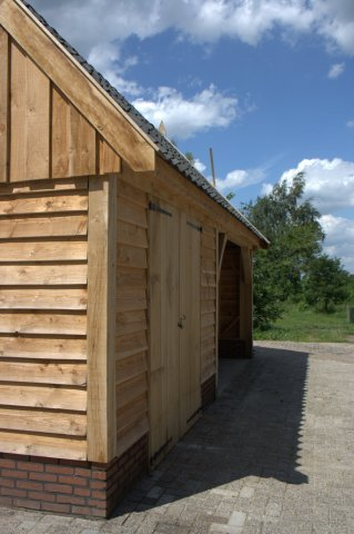 Houten-schuur-7 - Landelijke houten schuren
