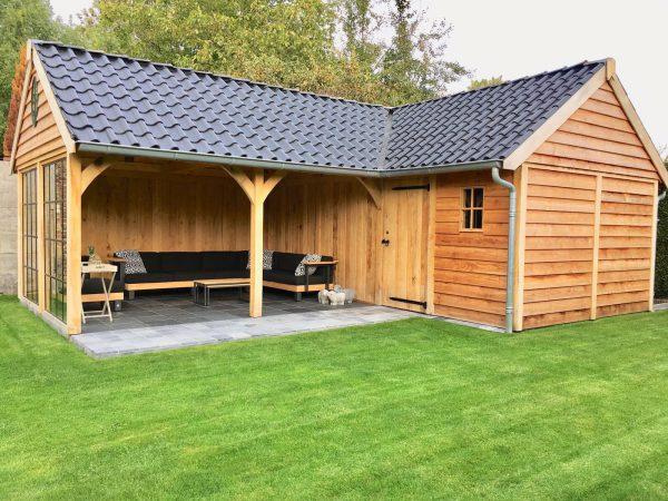 houten-tuinhuis-met-veranda-hoekmodel-4-600x450 - Tuinhuis met veranda hoekmodel