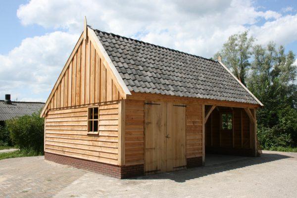 landelijke-schuur-600x400 - Landelijke houten schuren