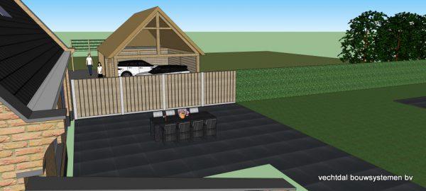 ontwerp-schuur-met-rietendak-3-600x270 - Ontwerp: schuur en carport met rietendak.
