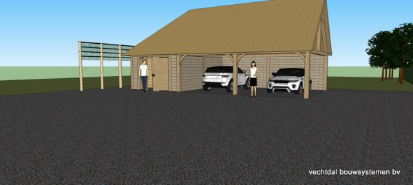 ontwerp-schuur-met-rietendak-4-600x270 - Ontwerp: schuur en carport met rietendak.