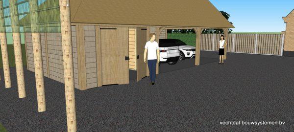 ontwerp-schuur-met-rietendak-5-600x270 - Ontwerp: schuur en carport met rietendak.