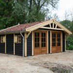 Houten Tuinpaviljoen Type: 'Quendalure Base'