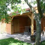 Tuinhuis met veranda deluxe