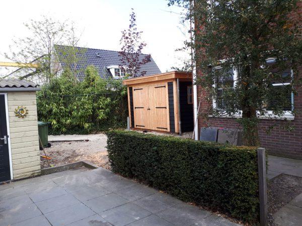 houten-overkapping-600x450 - Bijgebouw en overkapping te Rotterdam.