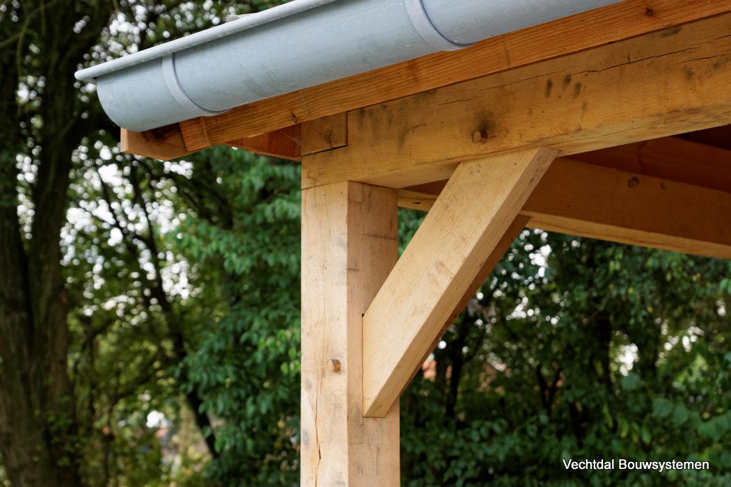 houten-schuur-met-overkapping-4 - Project Groesbeek: houten tuinhuis met overkapping Hoekmodel