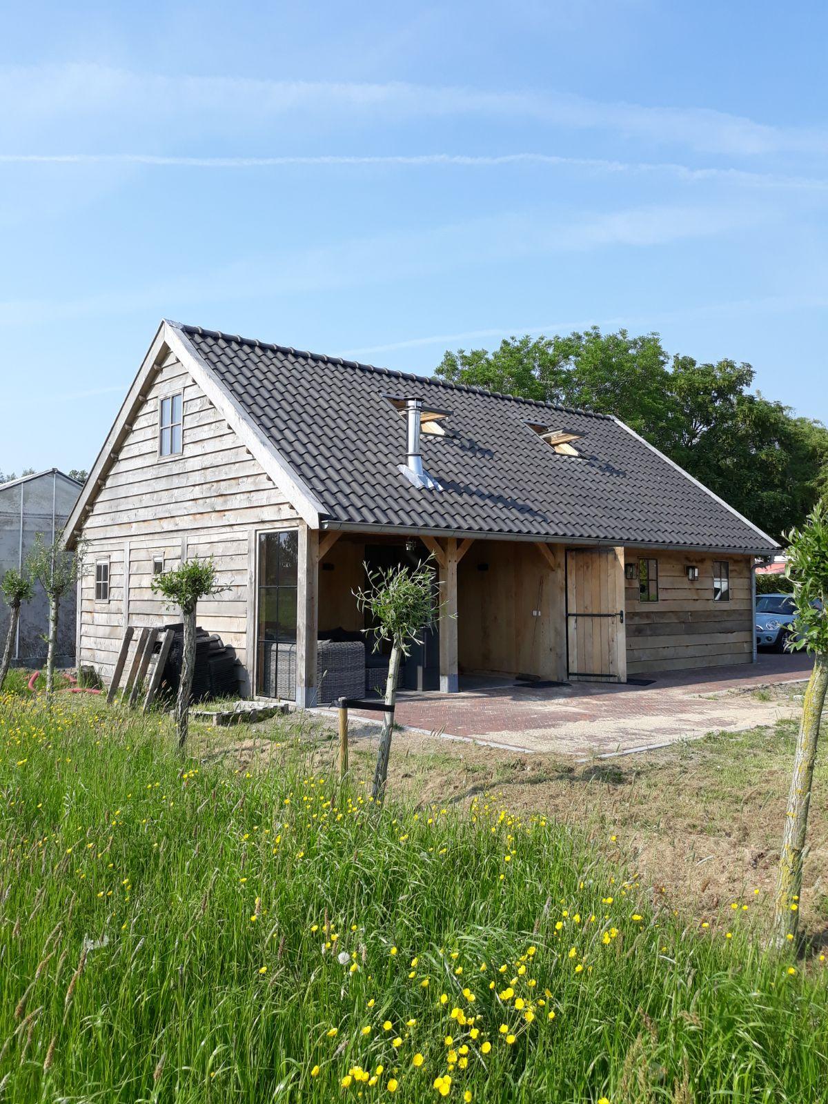 eiken-bijgebouw-1 - Project Maassluis: Eiken Recreatiewoning - Bijgebouw