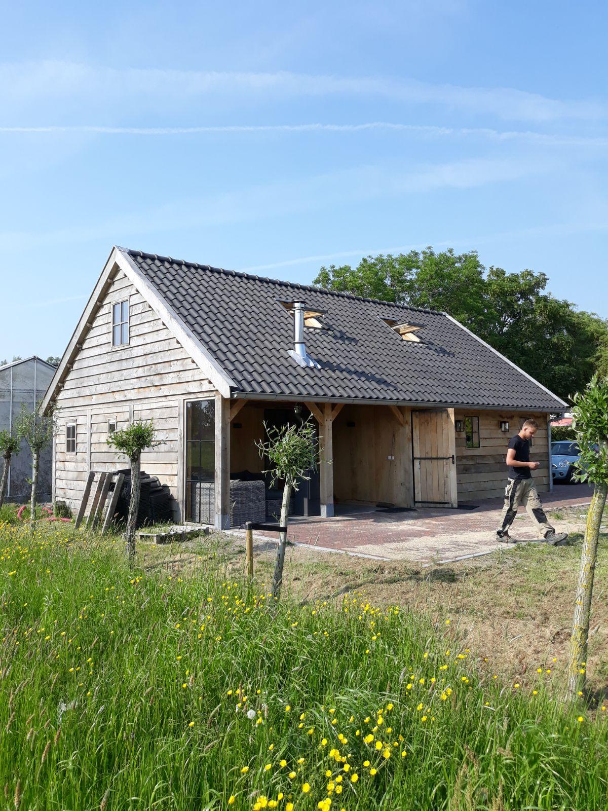 eiken-bijgebouw-10 - Project Maassluis: Eiken Recreatiewoning - Bijgebouw