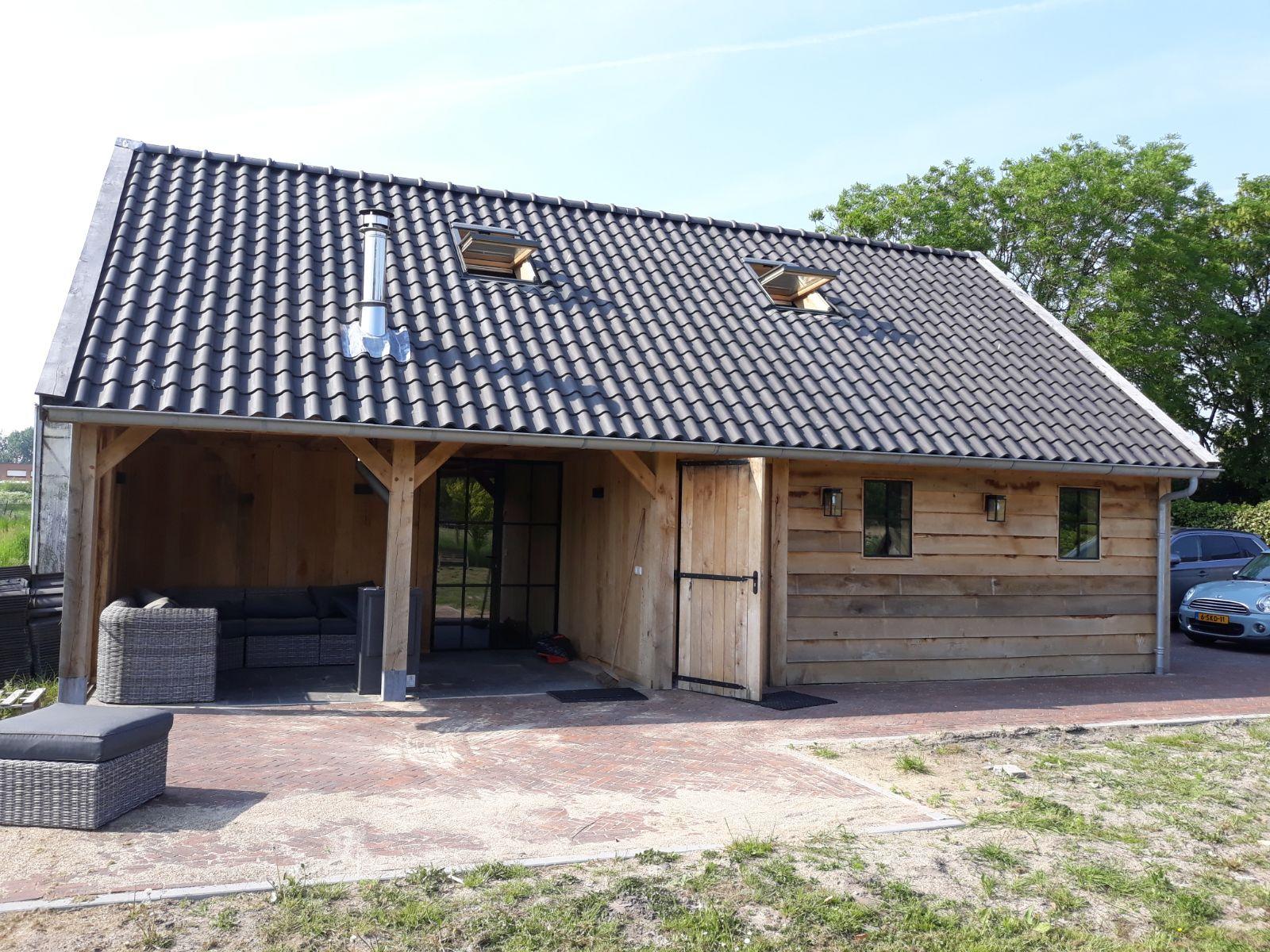 eiken-bijgebouw-2 - Project Maassluis: Eiken Recreatiewoning - Bijgebouw