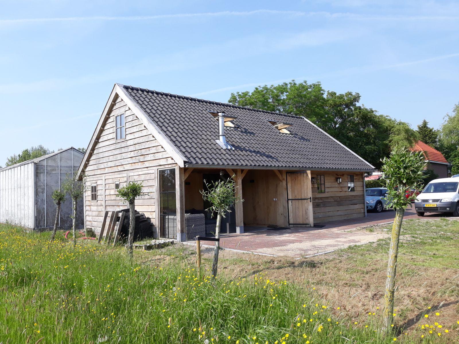 eiken-bijgebouw-3 - Project Maassluis: Eiken Recreatiewoning - Bijgebouw