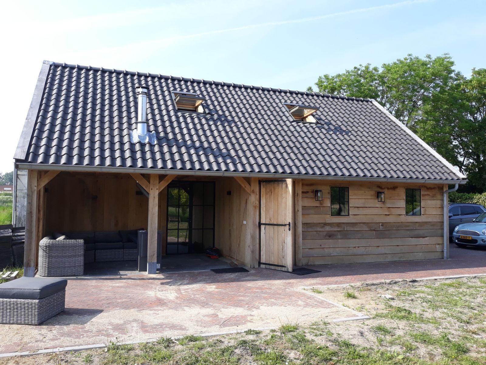 eiken-bijgebouw-4 - Project Maassluis: Eiken Recreatiewoning - Bijgebouw