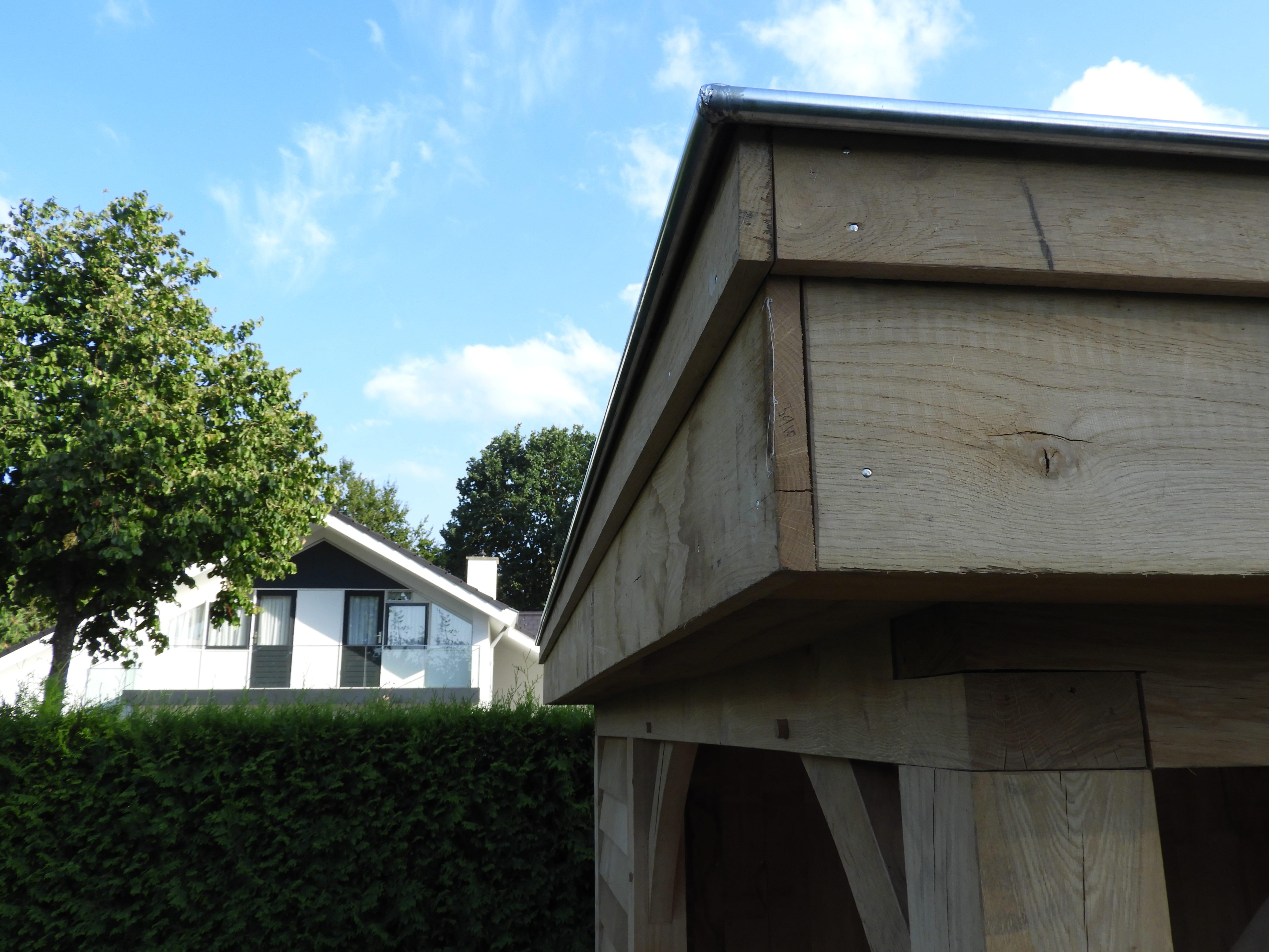 eikenhouten-bijgebouw-met-tuinkamer-en-jacuzzi-overkapping-2 - Project Hardenberg: Eiken tuinkamer met jacuzzi overkapping hoekmodel.
