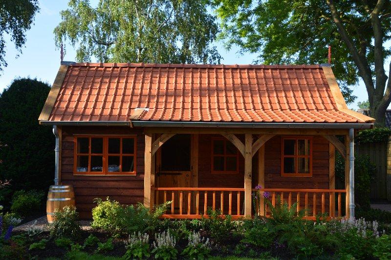 maatwerk-tuinhuis-12 - Project Venhuizen: Maatwerk houten tuinhuis
