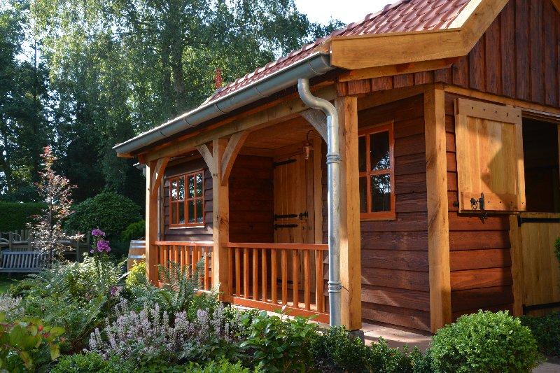 maatwerk-tuinhuis-14 - Project Venhuizen: Maatwerk houten tuinhuis