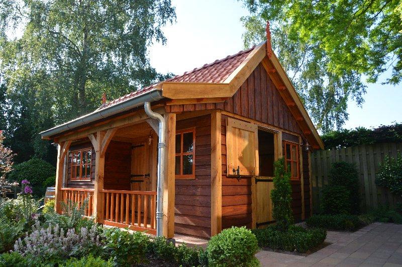 maatwerk-tuinhuis-15 - Project Venhuizen: Maatwerk houten tuinhuis